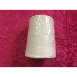 Hvid Snørre Garn 1kegle (250Gr)