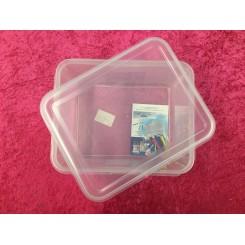 Plastik box med låg 1/2GN 32,5*26,5*15cm