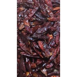Chili Hel Tørret  3-4cm  100Gr.