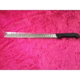 Laksekniv med luft skær 31cm.