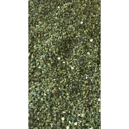 Grøn Paprika Tørret 3mm  100gr.