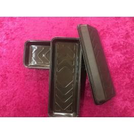 Kageform  med pet (silikone) brun 10stk