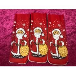 Julemand Lærred tarm Julemand med sæk