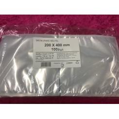 Vakuum poser Glatte  200/400  100Stk.