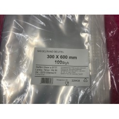 Vakuum poser Glatte  300/600 100Stk.