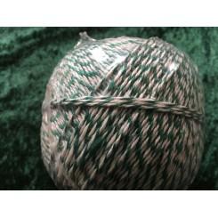 Snørregarn Hvid/Grøn 4Tråd