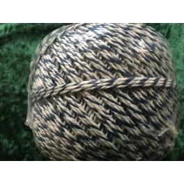 Snørregarn Hvid/Blå 4Tråd
